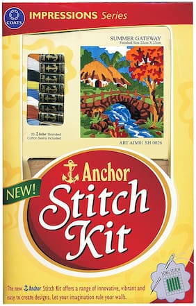 Anchor Stitch Kit - Summer Gateway
