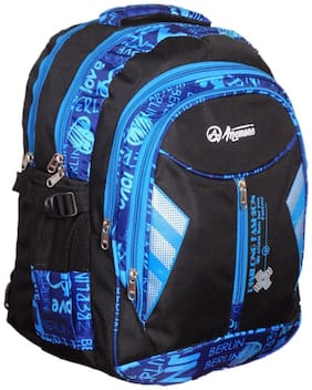 Anemone Polyester 28 Ltr Backpack/School Bag 10 (Blue)