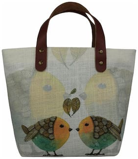 Anges Etsy Birds Hand Bag
