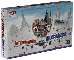 Ankit's Classic International Business Board Game with International Currency