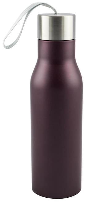 Anni Creations Glazy Ss Bottle ( Maroon )