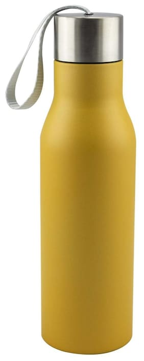 Anni Creations Glazy Ss Bottle ( Yellow )