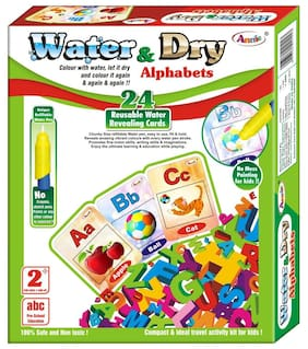 Annie 2 In 1 Water And Dry Alphabets