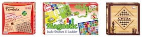 Annie stic Chess Magnetic Ludo Snakes And Ladder And Majestic Tambola