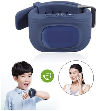 Anti Lost Q50 Child GPS Tracker SOS Smart Monitoring Positioning Phone Kids GPS Watch Compatible for iOS Android OLED LCD Screen By TSV