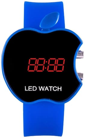 Apple Blue Touch Led Watch for Kids