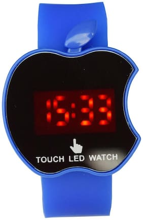 Apple Blue Touch Led Watch for Boys,Girls