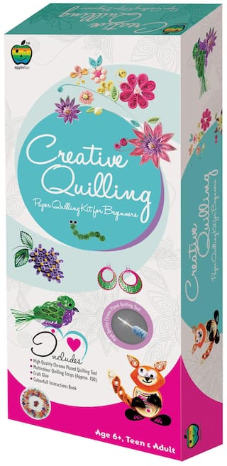 Apple Fun Creative Quilling For Beginners