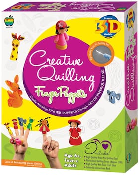 Apple Fun Creative Quilling Finger Puppets