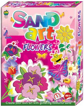 Apple Fun Sand Art Flowers
