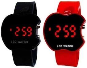 APPLE RED & BLACK COMBO FOR KIDS APPLE RED & BLACK COMBO FOR KIDS Watch - For Boys & Girls