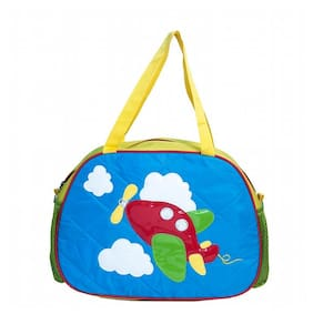 Aqua Aeroplane Quilted Kids Day Bag
