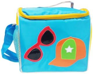 Aqua Hat & Sunglass Lunch Sling Bag
