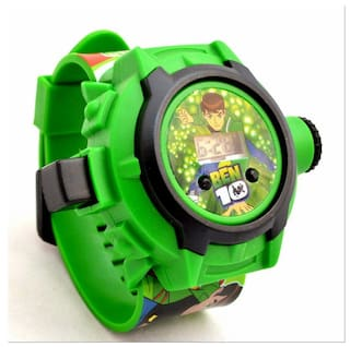 bc96ca3f3bf8 Buy Ar Sales Ben 10 Kids Watch With Projector Light Online at Low ...