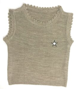 ARES Unisex Acrylic Solid Sweater - Brown