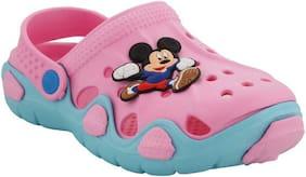 Arete Pink Unisex Kids Sandals