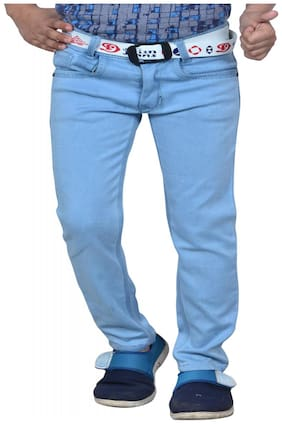 Aric Regular fit Kids Light Blue jeans