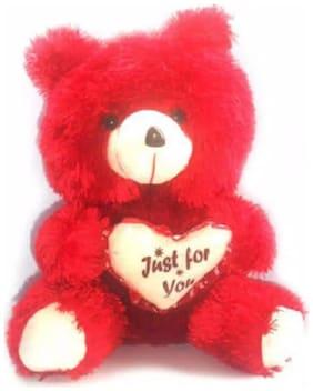 Oh Baby Red Teddy Bear - 40 cm