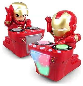 ARROHA Dynamic DJ Hero of Robot DJ Dancing Hero Iron Man (Red)