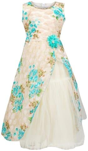 Arshia Fashions Girls Party Wear Frcok Dress-