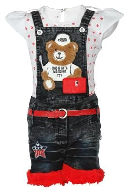 f0ebf879c56 Girls' Dungarees – Buy Girls Dungarees & Jumpsuits Online at Best ...