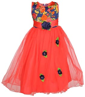 Arshia Fashions Girls party Wear Frock