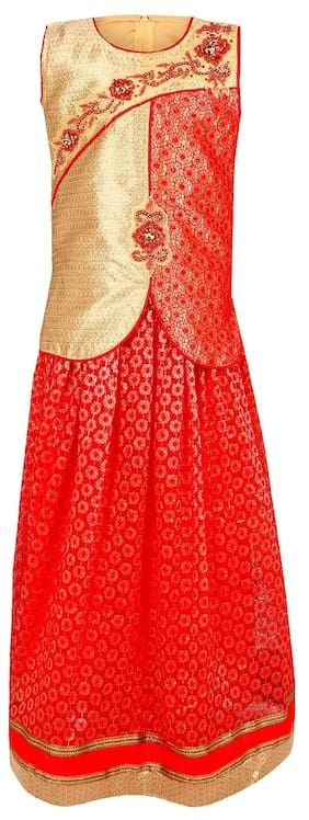 Arshia Fashions Girls Lehenga Choli Party Wear Ethnic Wear