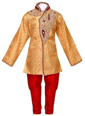 Arshia Fashions Boys Indo Western Sherwani Suit for Kids