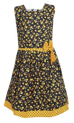 Arshia Fashions Girls Printed Cotton Frock Dress