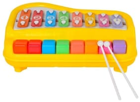 Ascend Store  2 in 1 Xylophone and Piano (8 Keys) Musical Toy for Kids