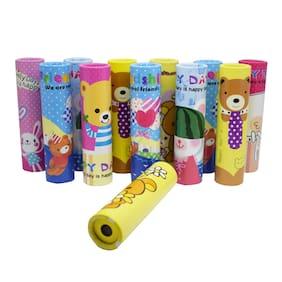 Asera Children Educational Magical Fun Science Toy Kaleidoscope 12 Pcs - Birthday Return Gifts