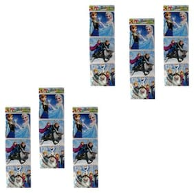ASERA Set of 3 pcs Frozen Character Puzzle Birthday Return Gift for Kids (Pack of 12 Sets)