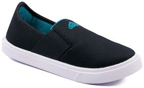 Asian Black Canvas shoes for boys