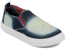Asian Blue Canvas shoes for boys