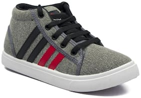 Asian Grey Canvas shoes for boys