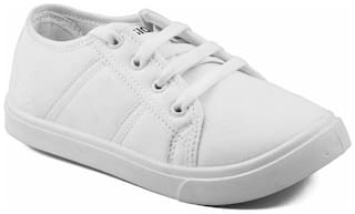 Asian White Canvas shoes for boys