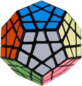 Assemble 12-Axis 3-Layer Shengshou Megaminx Pentagon Magic Puzzle Cube (1 Pieces)