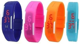 Attractive Looking Digital Watch for Kids (Set of 4)