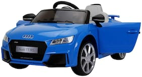 Audi TT RS Battery Operated Kids Ride on Licensed Car for Kids Blue (Age 2 to 7 yrs)