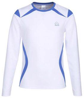 Aurro Boy Polyester Solid T-shirt - White