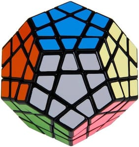 AUTHFORT 12-Axis 3-Layer Shengshou Megaminx Pentagon Magic Puzzle Cube (1 Pieces)