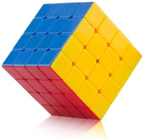 Authfort Imported 4X4X4 Rubik Plastic Magic Cube  (1 Pieces)