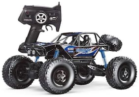 Authfort  MZ RC Cars All Terrain Remote Control High Speed Vehicle 1:10 Scale 2.4Ghz 4WD Eletric RC Toys Off Road Oversized Bigfoot Monster Truck 02  (Multicolor)
