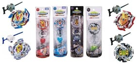 Authfort Present New Burst Beyblade Pack of 4  (Multicolor)