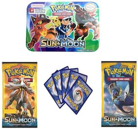 Authfort Sun & Moon Fun and Playing cards for kids- Multicolor (Multicolor)