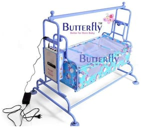 AUTOMATIC CRADLE WITH USB PORT & BATTERY BACK-UP BLUE COLOR