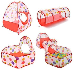 AV INT 3-in-1 Tunnel Ball Pool Tent, Fold-able, Outdoor