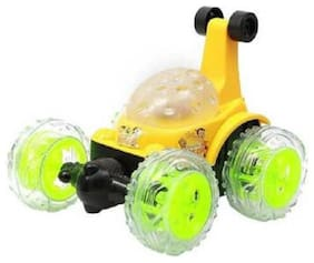 AV INT 3D Wireless Rechargeable Ben 10 Stunt Car with Remote Control