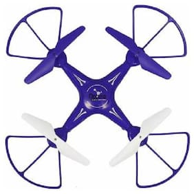 AV INT A Flying Drone H010, Quadcopter 6-AXIS GYRO, 360 deg, with USB Charger and RC. (Blue)