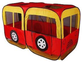 AV INT Fire Engine Pop Up Kids Play Tent House Pretend Play Indoor Outdoor Toy